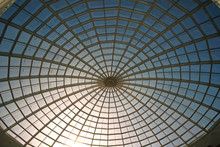 Dome Roof Made Of Glass