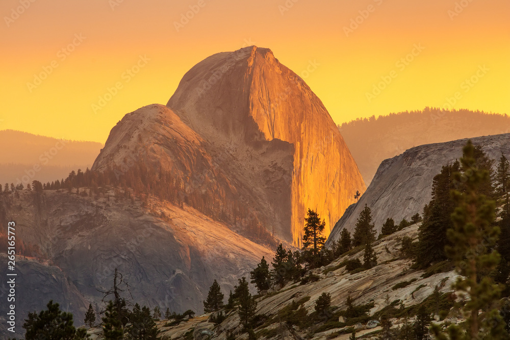 Fototapety, obrazy: Spectacular views of the Yosemite National Park in autumn, Calif