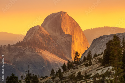 Spectacular views of the Yosemite National Park in autumn, Calif
