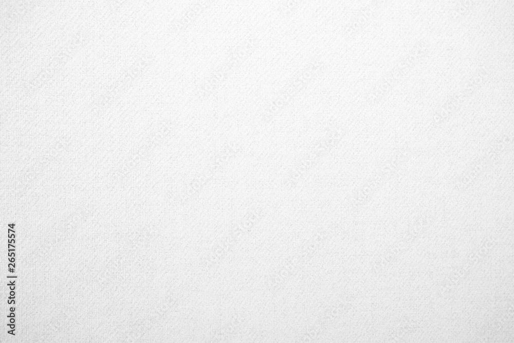 Fototapeta White Fabric Wallpaper Texture Background.