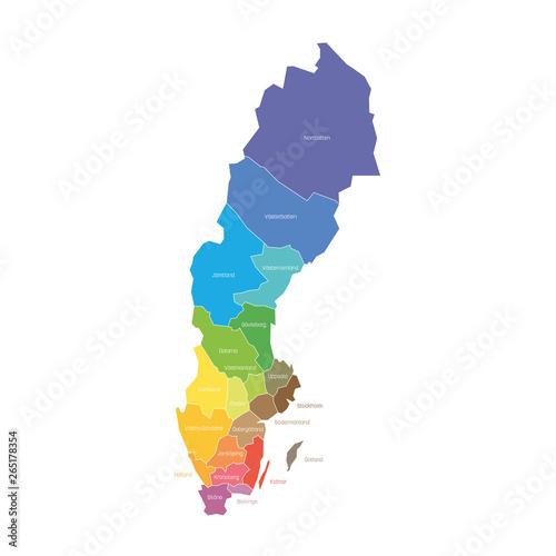 Photo  Counties of Sweden