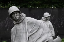 Statues Of Soldiers At The Kor...