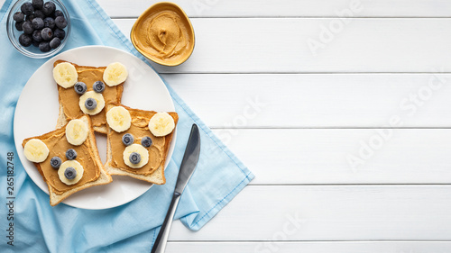 Photo  American dessert concept
