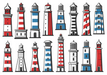 Nautical Marine Lighthouse, Sea Ligh Beacon