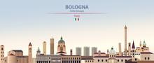 Vector Illustration Of Bologna...