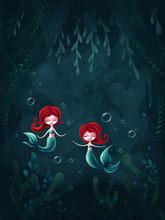 Two Little Mermaid