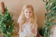 Adorable Little Blonde Long Ha...