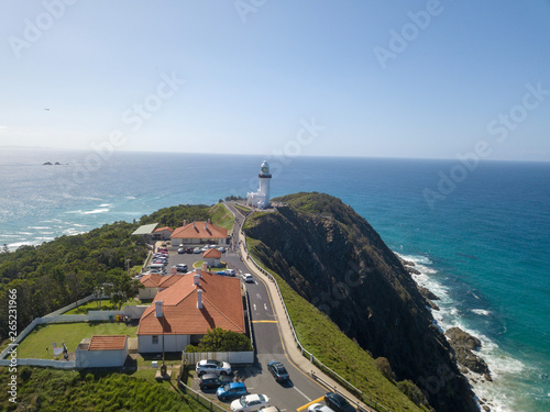 Fotografiet The byron Bay lighthouse, the most eastern point in australia