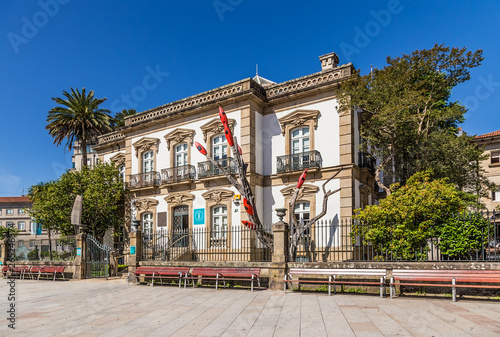 Pontevedra, Spain. Tourist Information Center