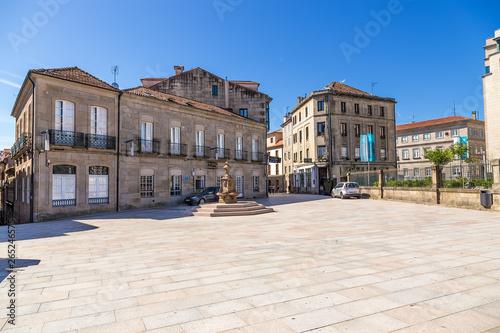 Pontevedra, Spain. Square Alonso de Fonseca