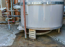 Water Heater Leaks From The Bo...