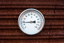 Retro Style Analog Thermometer...