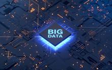 Big Data Concept.3d Rendering,conceptual Image.