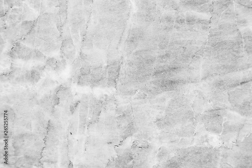 Fotografie, Obraz  Black and white marble texture and background with high resolution