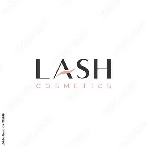 Slika na platnu lash type logo design