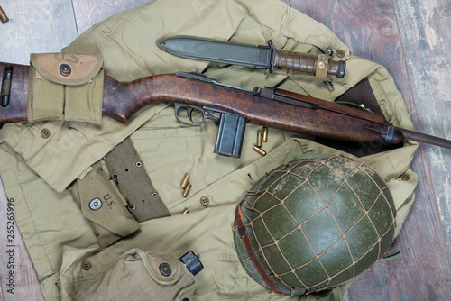 Cuadros en Lienzo world war two military american equipment