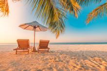 Beautiful Tropical Beach Banne...