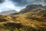 Paysage sauvage de montagne écossaisse Highlands Ecosse