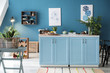 canvas print picture - Stylish interior of modern kitchen