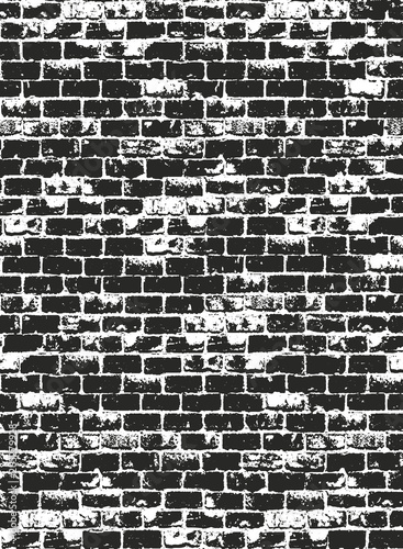 Okleiny na drzwi cegła  distressed-overlay-texture-of-old-brick-wall