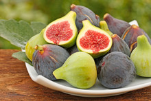 Figs In Natural Background