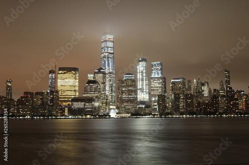 Fototapety, obrazy: USA Night Life Scene