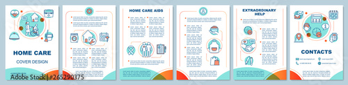 Photographie Home health care brochure template layout