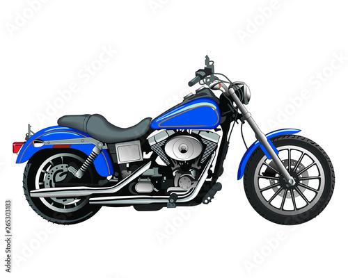 motocykl1 Canvas Print