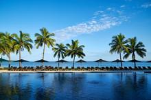 A Beach Resort In Fiji.