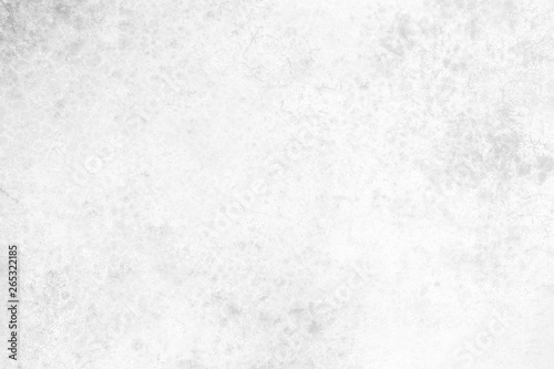 Fototapeta White Grunge Concrete Wall Texture Backgreound. obraz na płótnie