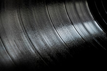 Surface Of An Old Vinyl Record...