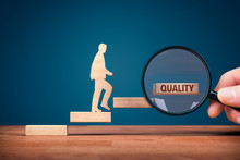 Coach Focused On Motivation To Quality Improvement