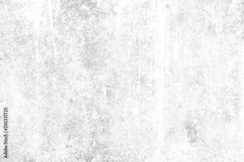 Fototapety, obrazy: White Grunge Concrete Wall Texture Background with Water Stain.