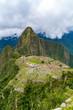 Machu Picchu, the ruins of inca empire city in the Cusco Region