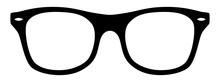 Nerd-Brille / Schwarz-weiß / ...