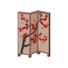 Traditional Japanese Screen Wi...