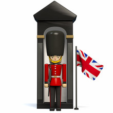 Royal Guard Of London - Queen's Guard Soldier