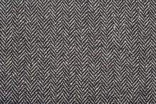 Herringbone Tweed Wool Fabric As Background