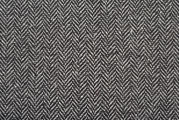 Herringbone tweed wool fabric as background