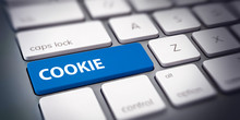 COOKIE Button Taste Auf Comput...