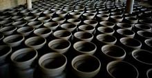 Fabrica De Vasos Em Indiana-São Paulo, Brasil.