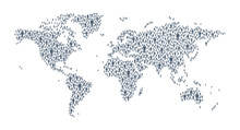 World Map - Global Human Conne...