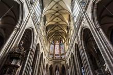 St. Vitus Cathedral, Prague Castle Complex; Prague, Czechia