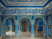 Ornate Designs On The Walls An...