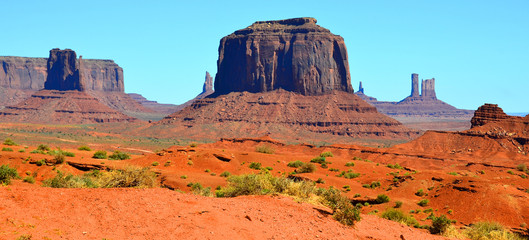 Monument Valley is a region...