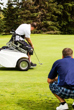 An Able Bodied Golfer Teams Up...