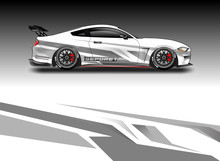 Car Wrap Designs Vector . File Ready To Print And Editable . Eps 10