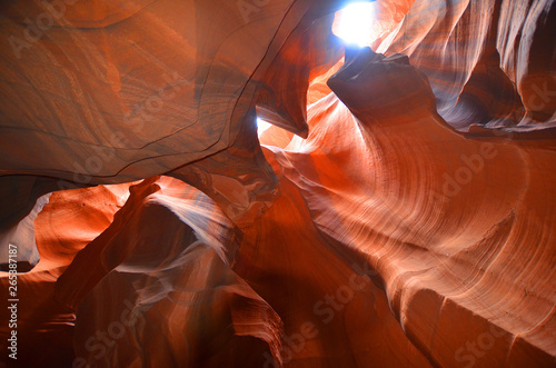 Obraz na plátně  Antelope Canyon is a slot canyon in the American Southwest