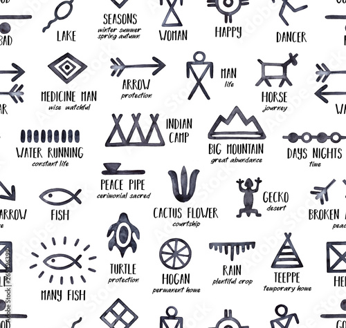 It's just an image of Native American Designs Printable pertaining to clip art