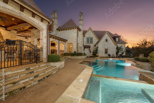 Mansion Sunset